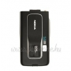Nokia 6260 slide akkufedél fekete*