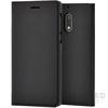 Nokia 6 gyári flip tok, fekete, CP-301