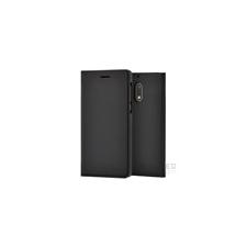 Nokia 6 gyári flip tok, fekete, CP-301 tok és táska