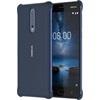 Nokia 8 gyári hátlap tok, kék, CC-801