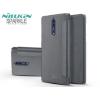 Nokia 8, Oldalra nyíló tok, Nillkin Sparkle, fekete