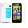 Nokia Lumia 630 / 635, Kijelzővédő fólia, ütésálló fólia, Nillkin, Tempered Glass (edzett üveg), Clear