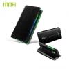 Nokia XL, oldalra nyíló tok, stand, MOFI Rui, fekete