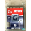 Novus tűzőkapocs G 10,6x1,2mm 14mm 600db-os