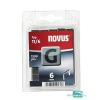 Novus tűzőkapocs G 10,6x1,2mm 6mm 1200db-os