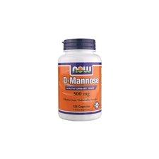 Now D-Mannose 500 mg (120 kapszula) táplálékkiegészítő