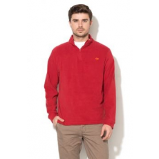 NR1 Number One , Polárpulóver cipzáros gallérral, Piros, XXL (GB-24010-FLEECE-RED-XXL)