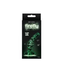 Ns Toys Firefly Glass - Angled Plug - Clear anál