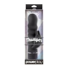 Ns Toys PowerPlay - Thumper Power Vibe - Black vibrátorok