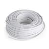 Numan hangfalkábel – CCA, fehér, alumínium-réz, 2 x 2,5 mm², 30 m
