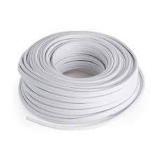 Numan hangfalkábel – CCA, fehér, alumínium-réz, 2 x 2,5 mm², 30 m hangszer kellék