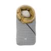 Nuvita Ovetto Pop bundazsák szőrmével 80cm - Prince of Wales / Beige - 9236