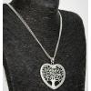 Nyaklánc - Szív fával