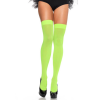 Nylon Over The Knee - NEON GREEN - O/S - HOSIERY