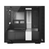 NZXT H200i ITX ablakos fehér-fekete (CA-H200W-WB)