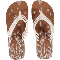 O'Neill FW 3 Strap Ditsy Flip Flop papucs D