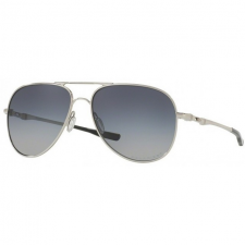 Oakley OO4119 02 ELMONT M & L POLISHED CHROME GRAY GRADIENT POLARIZED napszemüveg napszemüveg