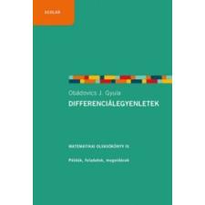 Obádovics J. Gyula Differenciálegyenletek tankönyv
