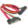 OEM Extension OEM SATA adat- és tápkábel, 0,5 m