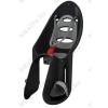 OKBABY Eggy Relax vázra rögzíthető gyerekülés, dönthető háttámla fekete, szürke párnával