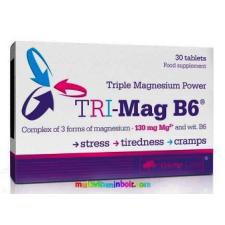 OLIMP LABS Tri-Mag-B6 30 db tabletta, 3-féle magnéziumsóval - Olimp Labs táplálékkiegészítő