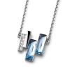 Oliver Weber Medál Swarovski kristályokkal Oliver Weber Skyline aqua