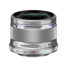 Olympus ZUIKO 25 mm f/1.8 ezüst objektív
