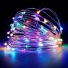 OMG 10 méteres napelemes kültéri RGB LED szalag