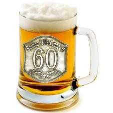 Óncímkés sörös korsó 55, 60 éves (2.) sörös pohár