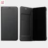 One Plus 5T Flip Cover Black