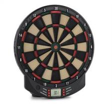 oneConcept Dartomat elektromos darts céltábla, puha hegyű nyilak, 26 játék, hangok darts hegy
