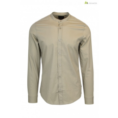 Only & Sons Férfi ing bézs WH7-ALFREDO_MANDERINE_SHIRT_NOOS_309