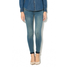 Only , Coral skinny farmernadrág, Mosott kék, W26-L30 (15159569-MEDIUM-BLUE-DENIM-W26-L30)
