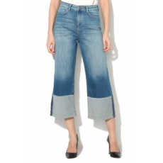 Only , Eya farmer culotte nadrág, Kék, W28-L32 (15153260-MEDIUM-BLUE-DENIM-W28-L32)