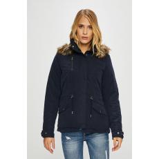 Only - Kapucnis kabát - sötétkék - 1409820-sötétkék