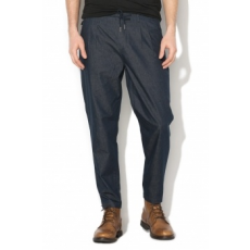 Only & sons , LEO Anti-Fit crop nadrág, Sötétkék, W32-L32 (22009340-BLUE-DENIM-W32-L32)