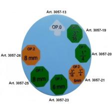 """OP2 peremezőfej, 1/4"""" + 4.75 mm a BGS 3057 fékcsőperemezőhöz (BGS 3057-21) autójavító eszköz"""