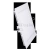 Optonica 25W mini led panel négyzet alakú (opál üveg, meleg fehér)