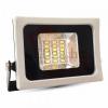 Optonica Fehér slim SMD led reflektor (10W, SMD, 120°) meleg fehér