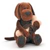 Orange Toys Cookie plüss kutya csonttal, 20 cm