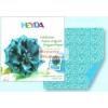 Origami papír - Kék virág hajtogató készlet 15x15 cm