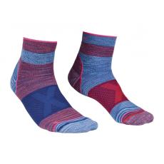 Ortovox Női zokni Ortovox Quarter Socks W Szín: kék/rózsaszín / Zokni mérete: 42-44