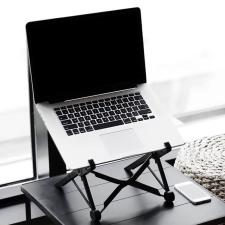 Összecsukható, állítható kompakt laptop állvány laptop kellék