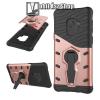 OTT! MOBILE OTT! COOL ARMOR mûanyag védõ tok / hátlap - FEKETE / ROSE GOLD - szilikon betétes, kitámasztható, ERÕS VÉDELEM! - SAMSUNG SM-G960 Galaxy S9