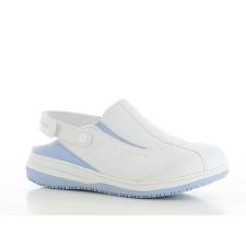 OXYPAS Klumpa fehér-kék OXYPAS IRIS SRC ESD 38 munkavédelmi cipő