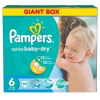 Pampers Active Baby 6 Extra Large Giant Box Pelenka, 66 db