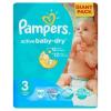 Pampers Active Baby Dry pelenka 3 méret, midi 90 db