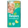 Pampers Active Baby-Dry Pelenka 5-ös Méret (Junior), 64 Darabos Kiszerelés
