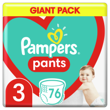 Pampers Bugyipelenka Pants 3-as méret, 76 db, 6kg-11kg pelenka