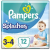 Pampers nadrág Splasher Carry Pack 3 méret (12 db)